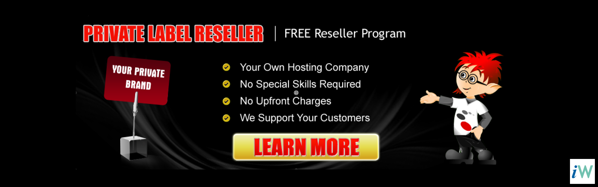 Free Web Hosting Reseller Program